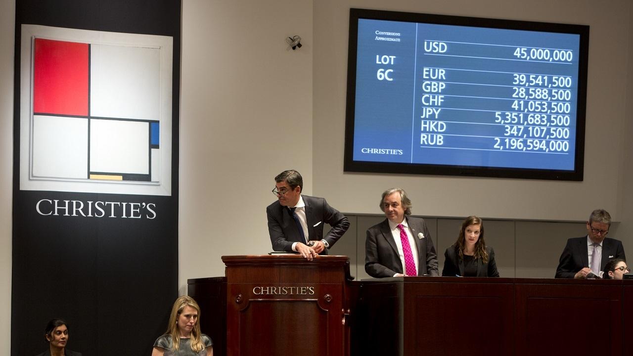 In The Saleroom: Piet Mondrian auction at Christies