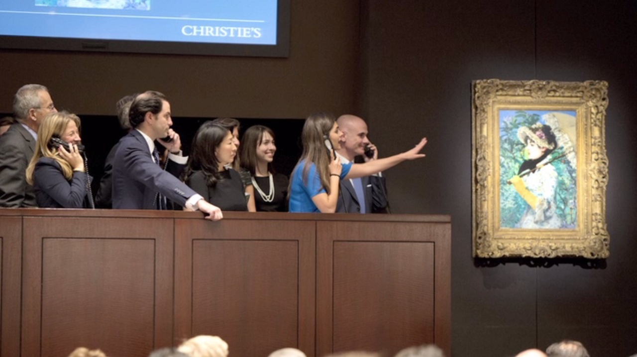 New York Auctions Cap Off Exce auction at Christies