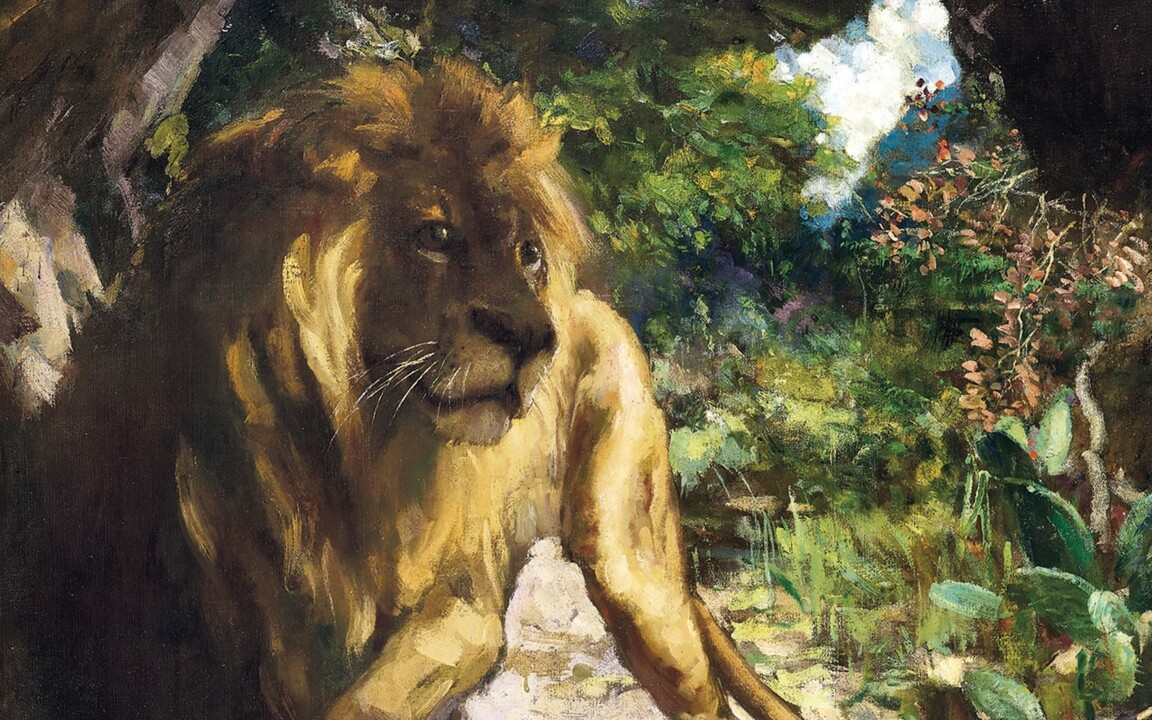 Slave and Lion — A milestone w auction at Christies