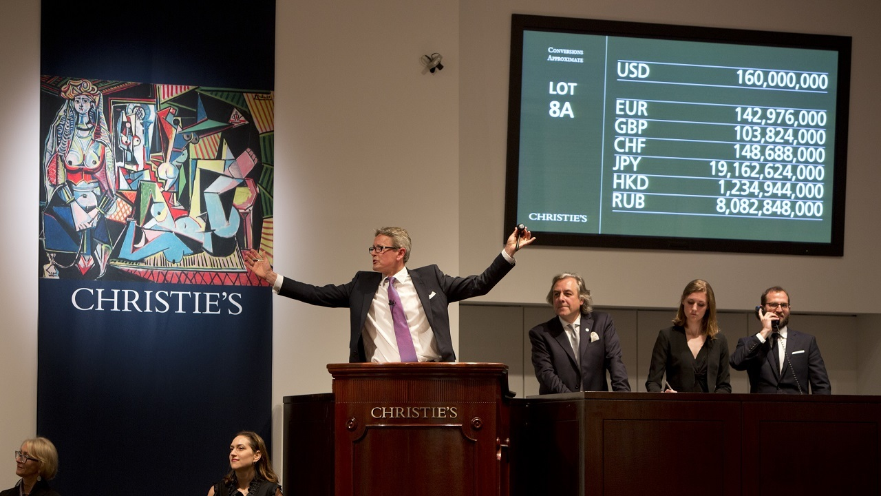 New territory for the art mark auction at Christies