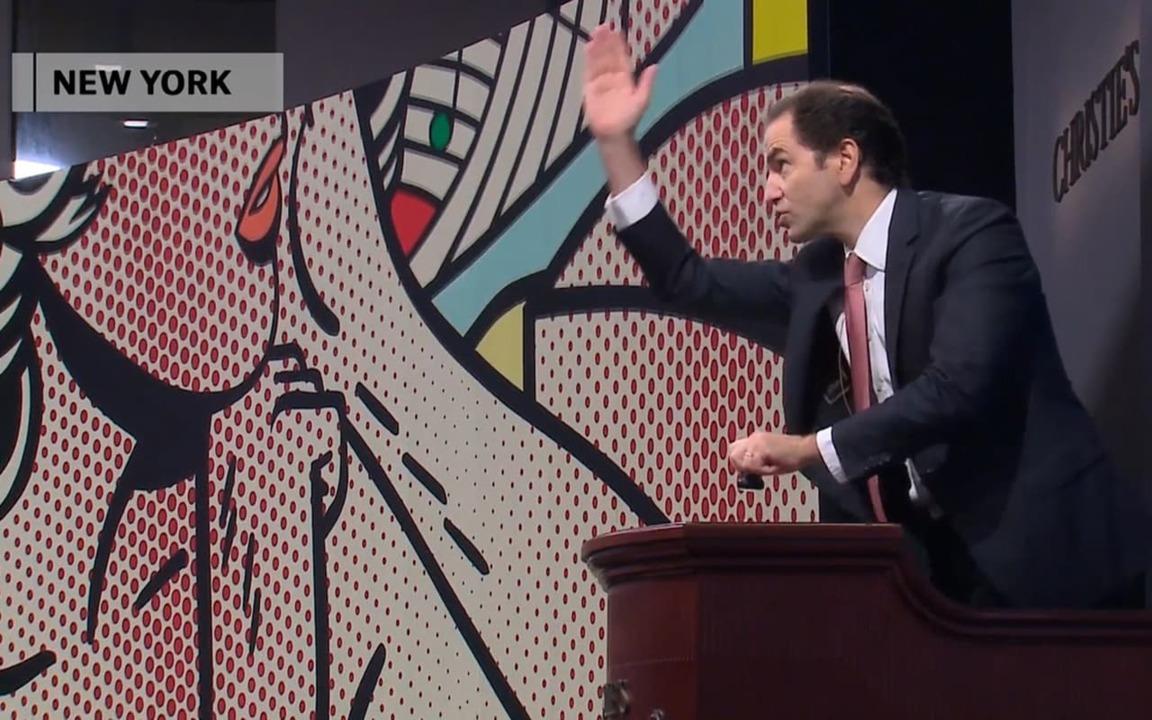 Lichtenstein fetches $46,242,5 auction at Christies