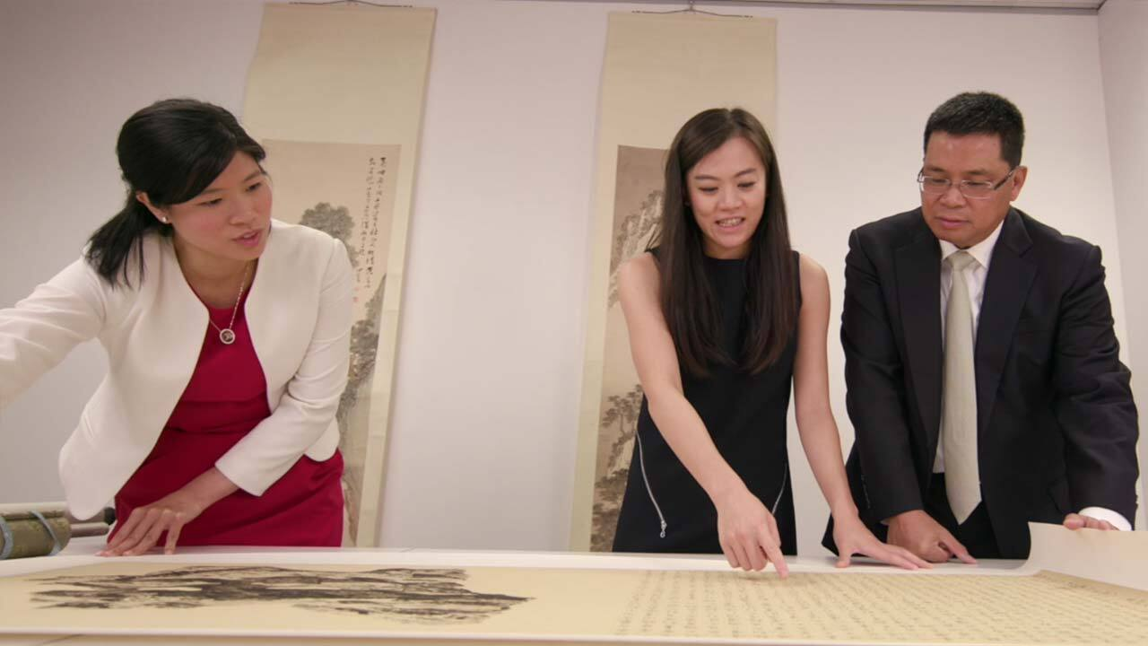 'My love for Chinese Modern Pa auction at Christies
