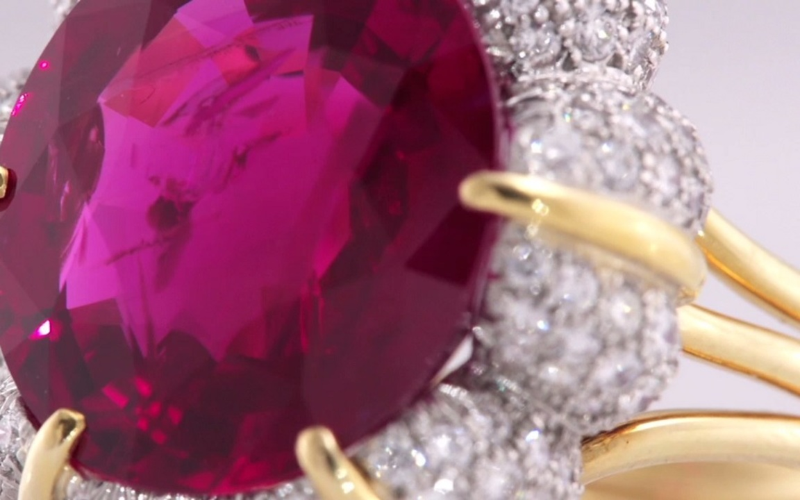 The Jubilee Ruby: Worthy of a  auction at Christies