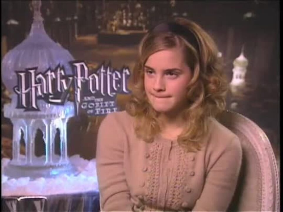 Emma Watson Harry Potter And The Goblet Of Fire Interview Movie Trailers And Videos