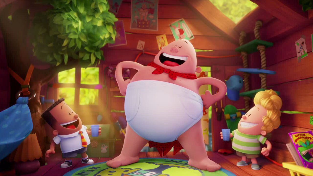 Captain Underpants The First Epic Movie Water Clip Trailers And Videos