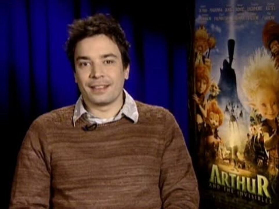 Jimmy Fallon Arthur And The Invisibles Interview Movie Trailers And Videos