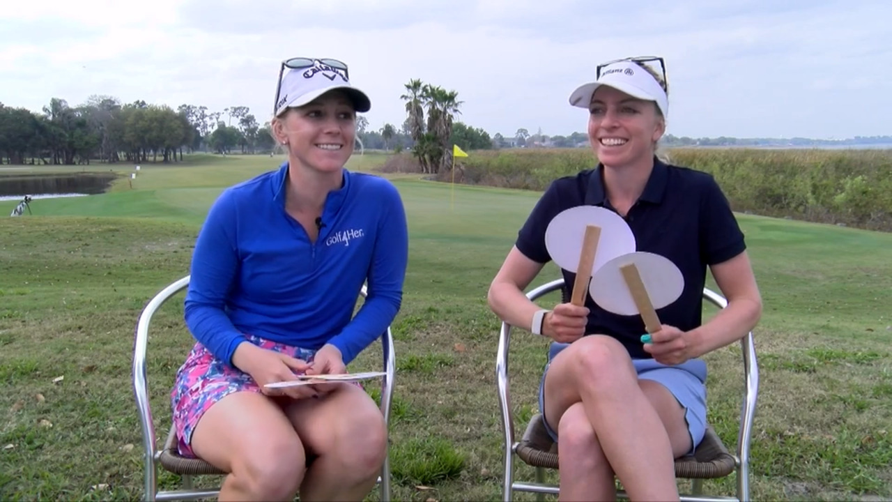 Me vs. Her - Madison Pressel and Sophia Popov