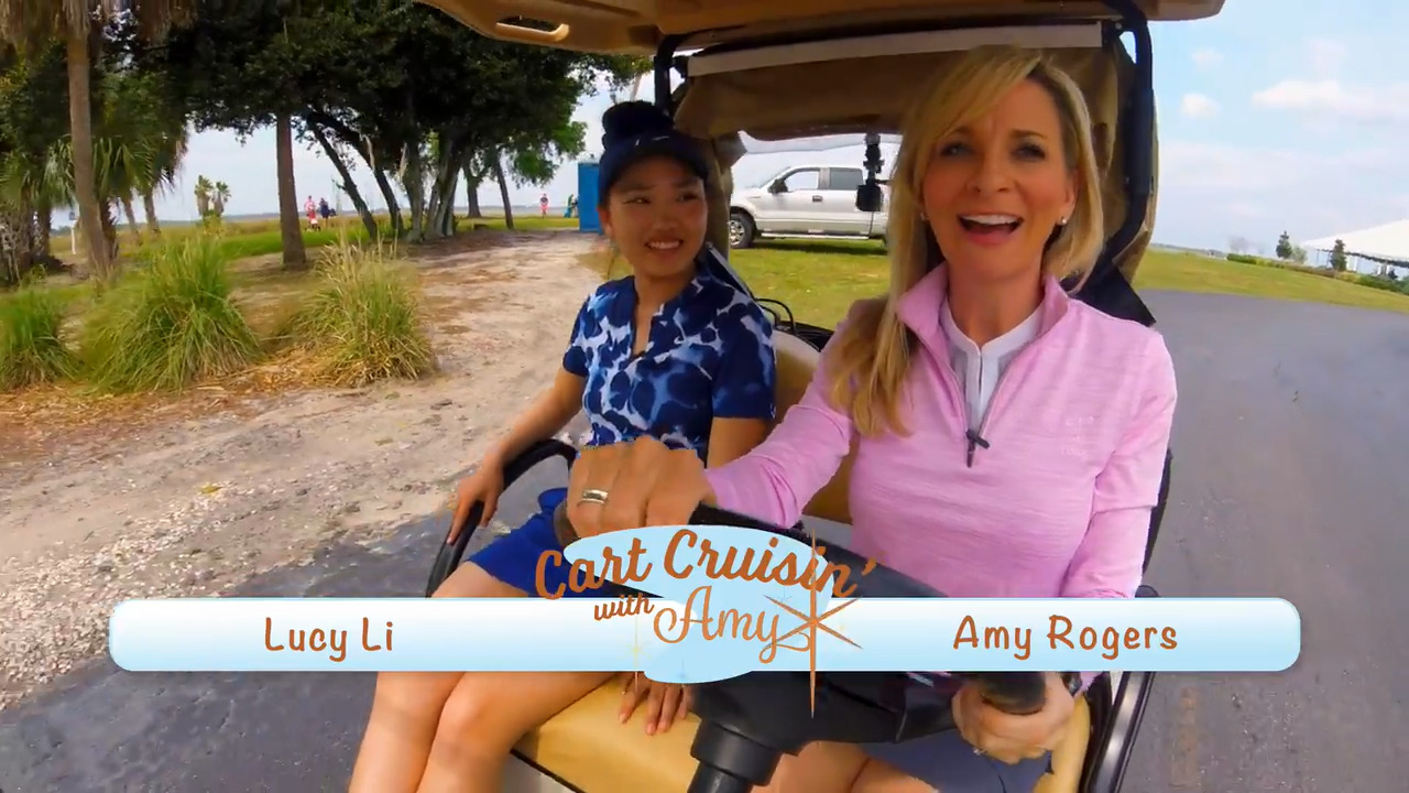 Cart Cruisin' with Lucy Li