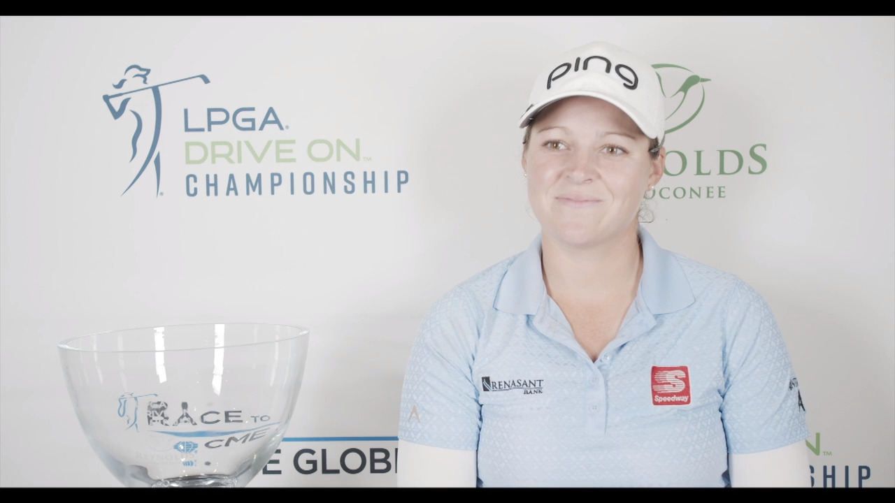 Ally McDonald's Winner Interview at the LPGA Drive On Championship Reynolds Lake Oconee