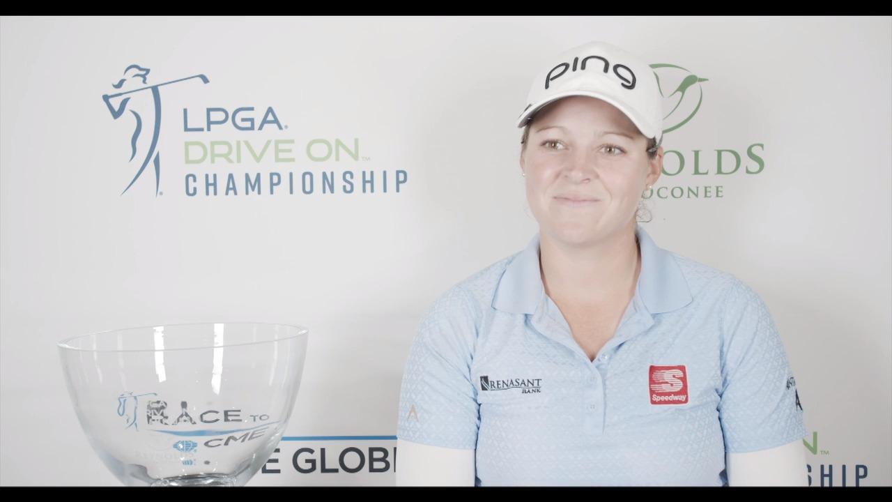 Ally McDonald's Winner Interview at the LPGA Drive On Championship Reynolds Lake Oconee