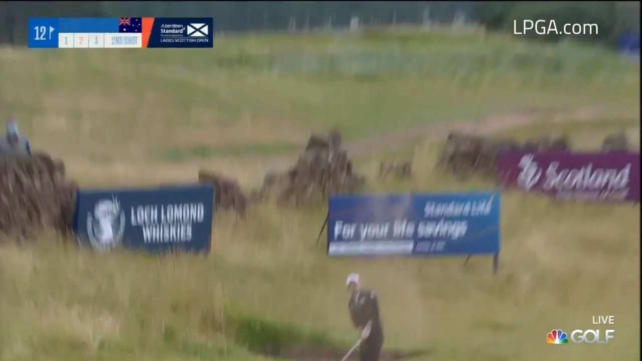 Highlights from the Second Round of the Ladies Scottish Open