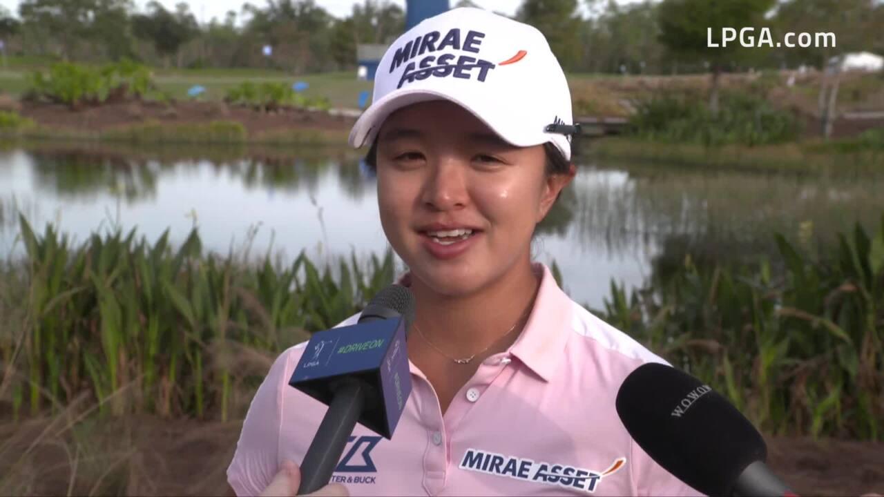 Sei Young Kim Talks Third Round 68 at 2019 CME Group Tour Championship