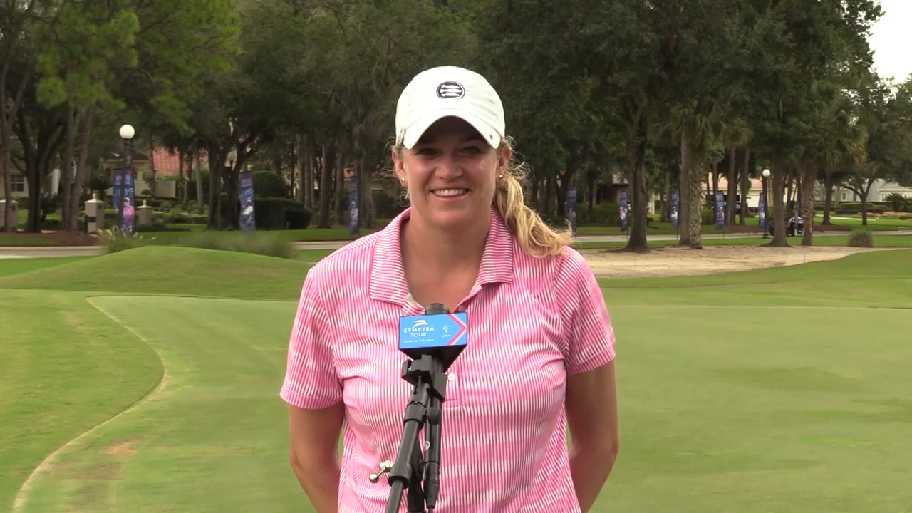 Winner's Interview with Laura Wearn at the IOA Golf Classic