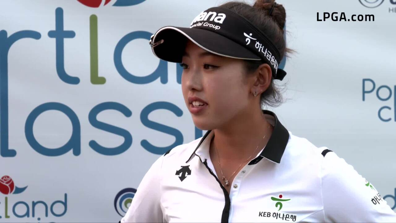 Yealimi Noh Talks Third Round At The 2019 Cambia Portland