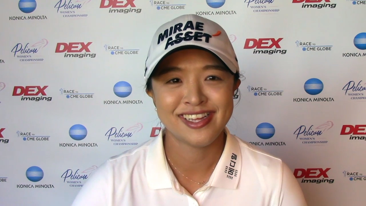 Sei Young Kim Winner's Interview at the Pelican Women's Championship