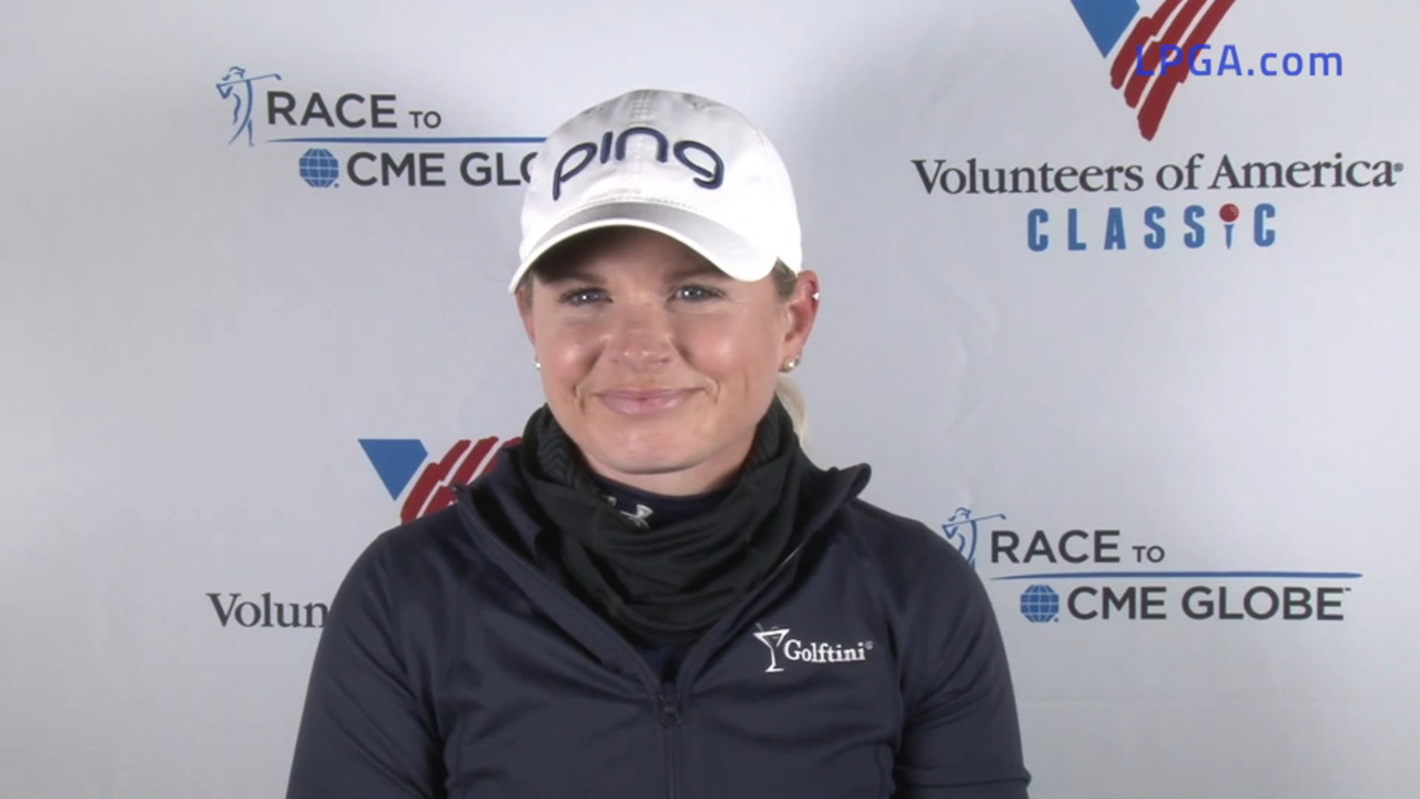 Lindsey Weaver Second Round Interview at the Volunteers of America Classic