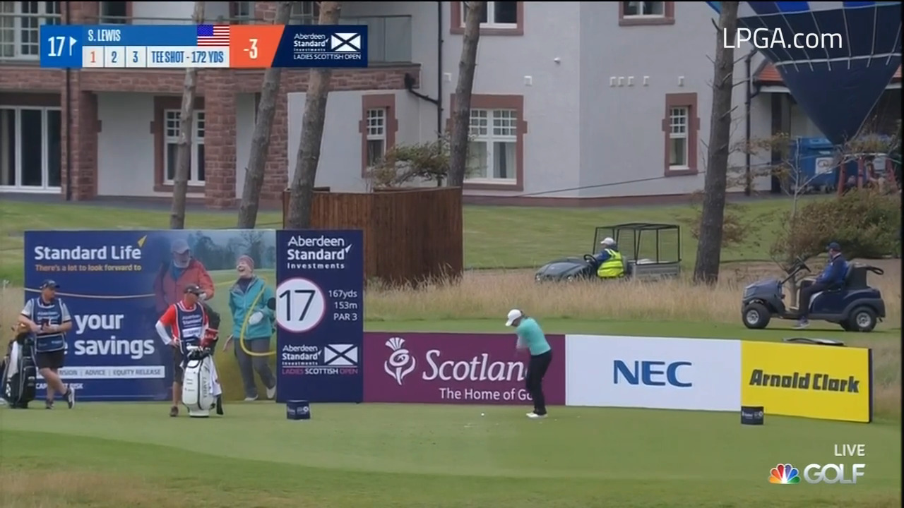 Stacy Lewis Second Round Highlights at the Ladies Scottish Open