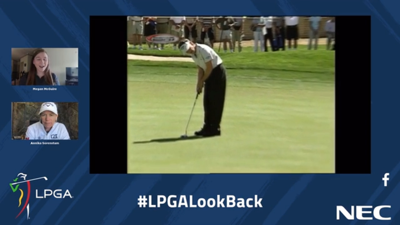 LPGA Look Back - Annika Sorenstam shoots 59