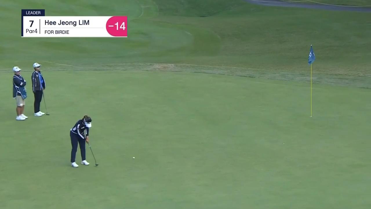 Hee Jeong Lim Round 3 Highlights | 2021 BMW Ladies Championship