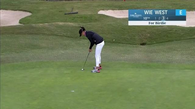 Michelle Wie West Opening Round Highlights at the 2021 HUGEL-AIR PREMIA LA Open