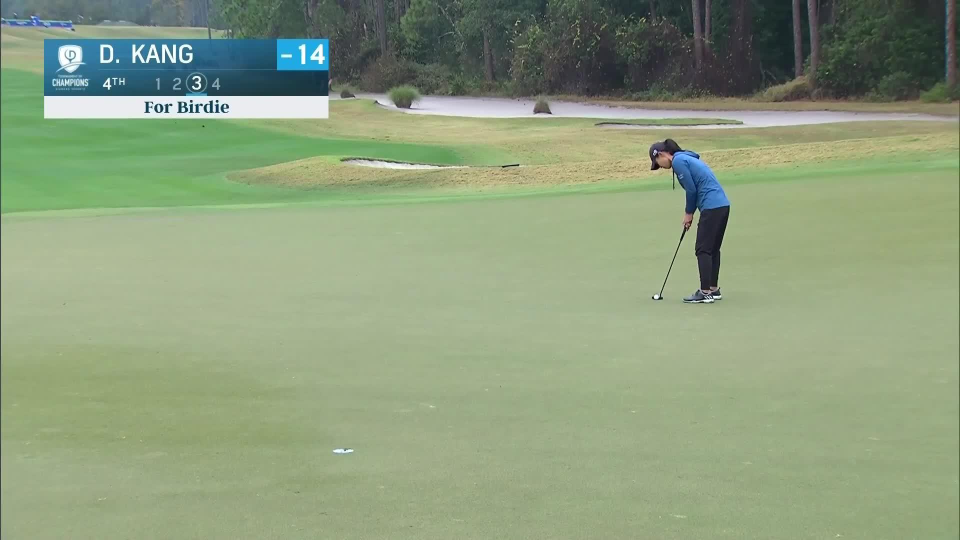 Danielle Kang Third Round Highlights at the 2021 Diamond Resorts Tournament of Champions