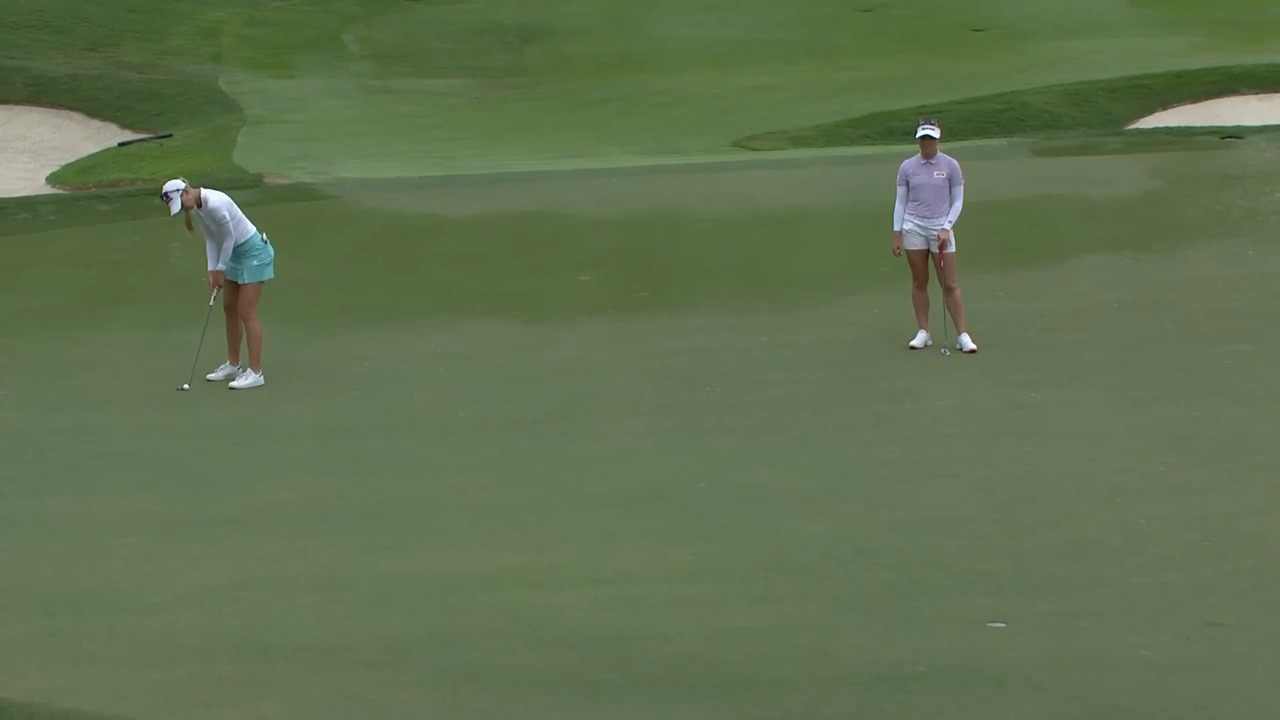 Opening Round Highlights from the 2021 KPMG Women's PGA Championship - condensed