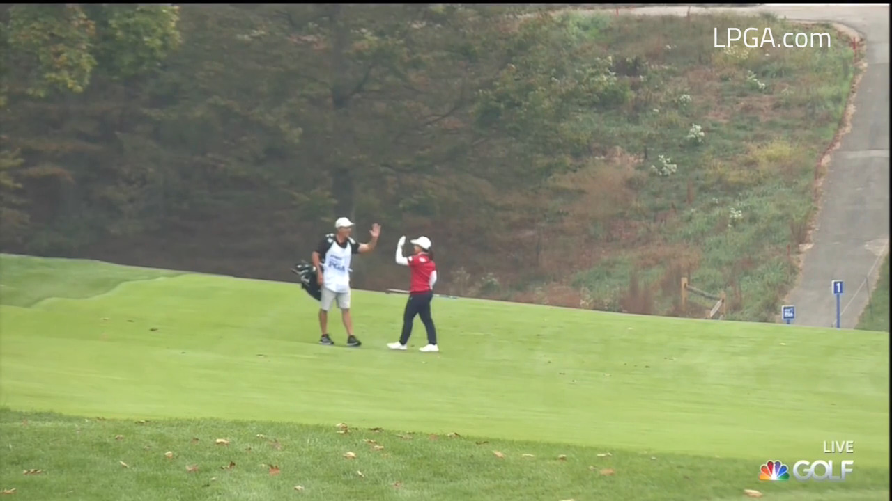 UL Innovative Shot of the Day Final Two of the 2020 KPMG Women's PGA Championship