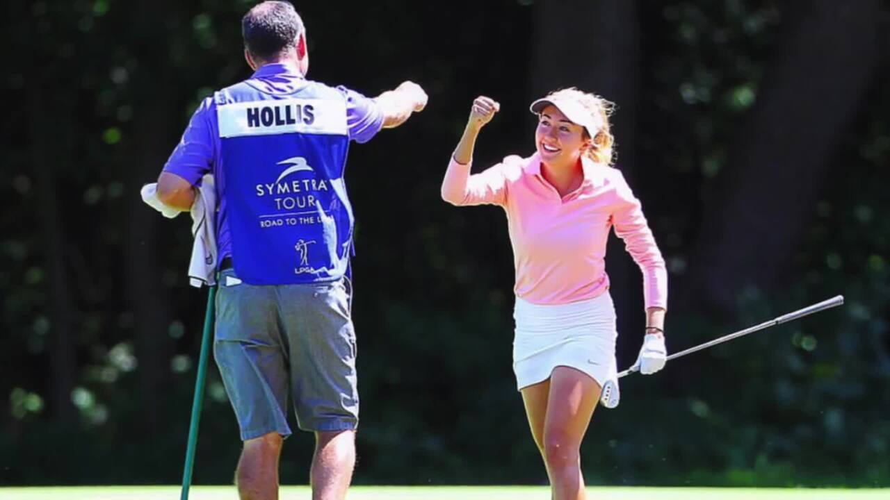Jillian Hollis' Journey to the LPGA Tour