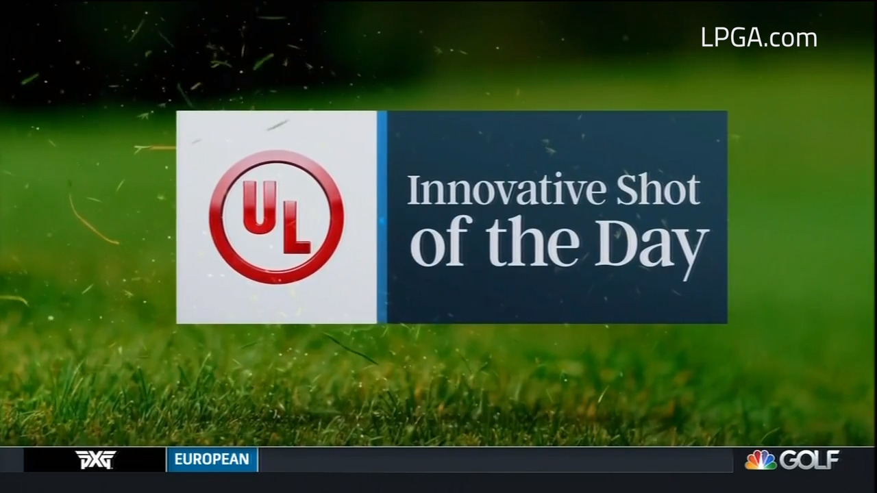 UL Innovative Shot of the Day during the final round of the Pelican Women's Championship