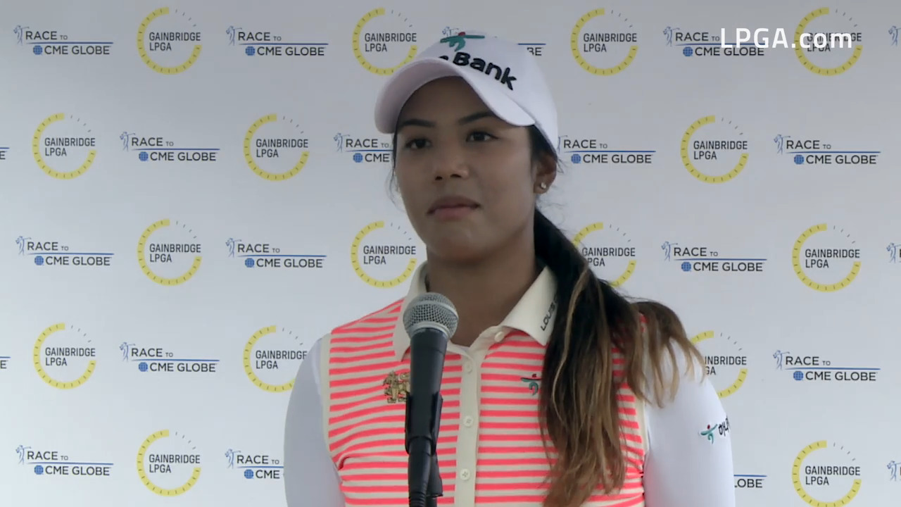 Patty Tavatanakit Third Round Interview at the 2021 Gainbridge LPGA