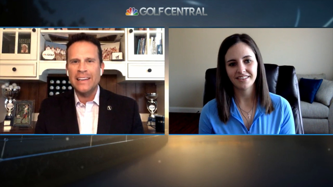 Sarah Hoffman on Golf Central