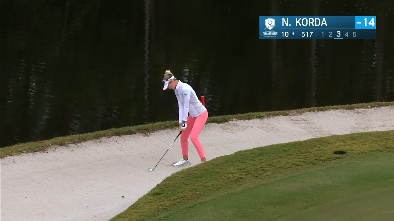 Nelly Korda Third Round Highlights at the 2021 Diamond Resorts Tournament of Champions
