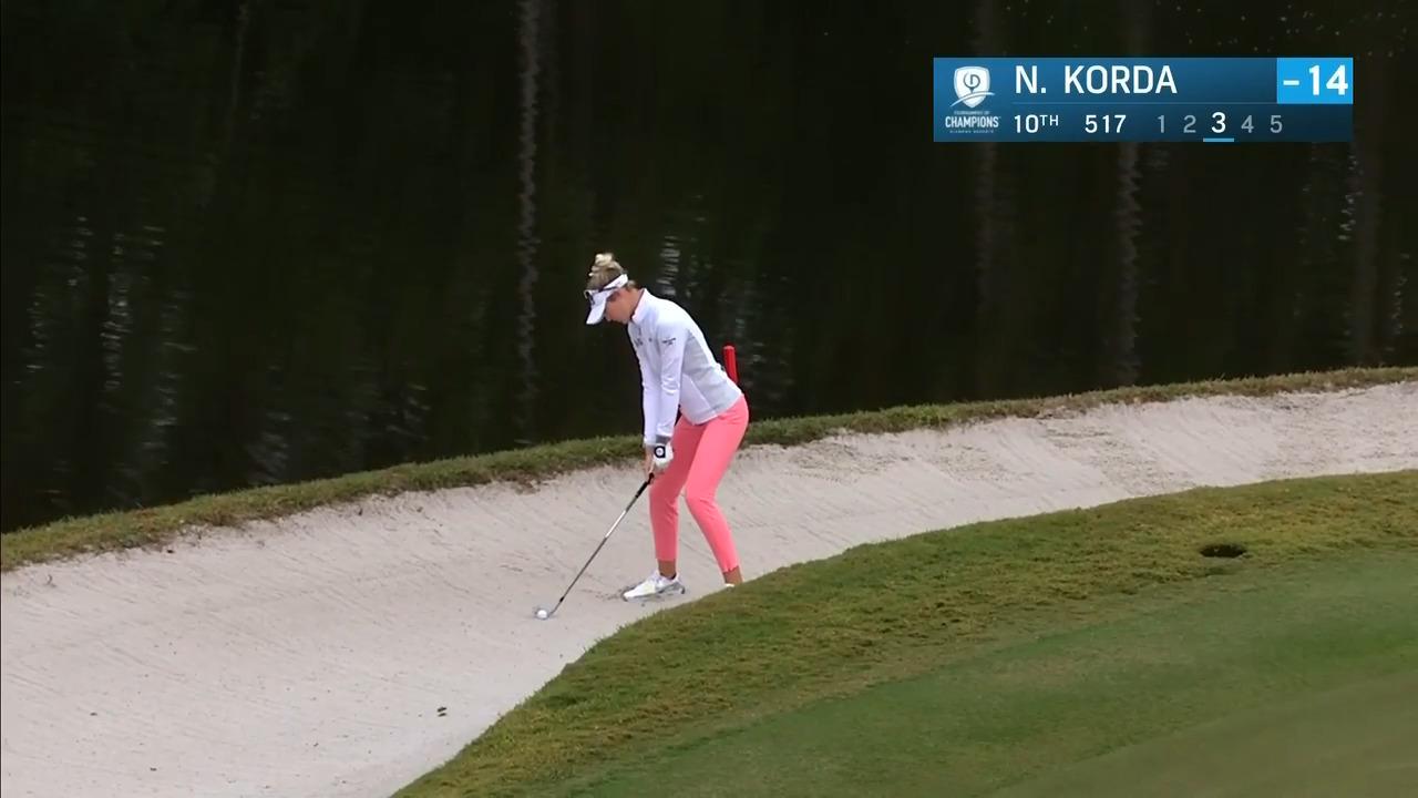 Nelly Korda Third Round Highlights at the 2021 Diamond Resorts Tournament of Champions