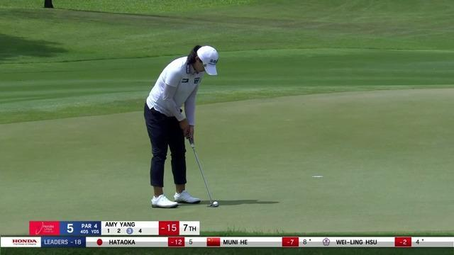 Amy Yang Final Round Highlights at the 2021 Honda LPGA Thailand