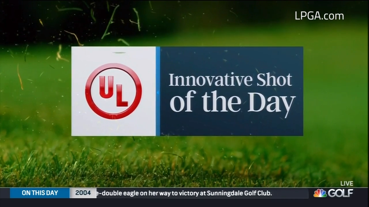UL Innovative Shot of the Day during Day 2 of LPGA Drive On Championship