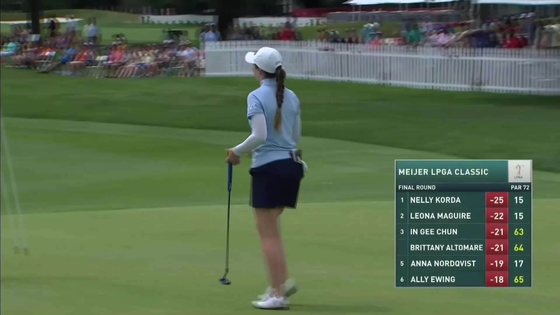 Brittany Altomare Final Round Highlights at the 2021 Meijer LPGA Classic