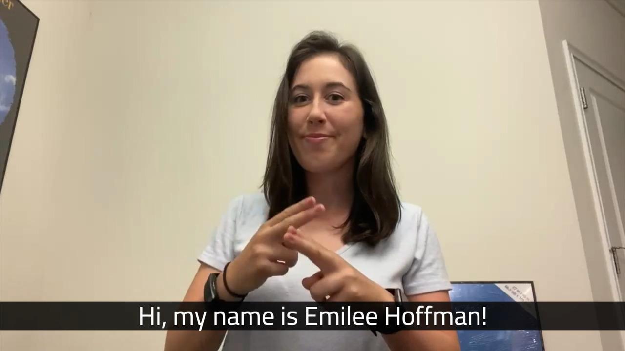 Deaf Awareness Week with #Road2LGPA Rookie Emilee Hoffman