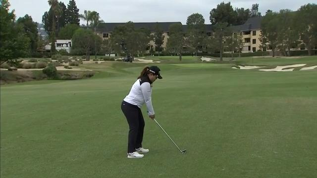 Inbee Park Second Round Highlights at the 2021 HUGEL-AIR PREMIA LA Open
