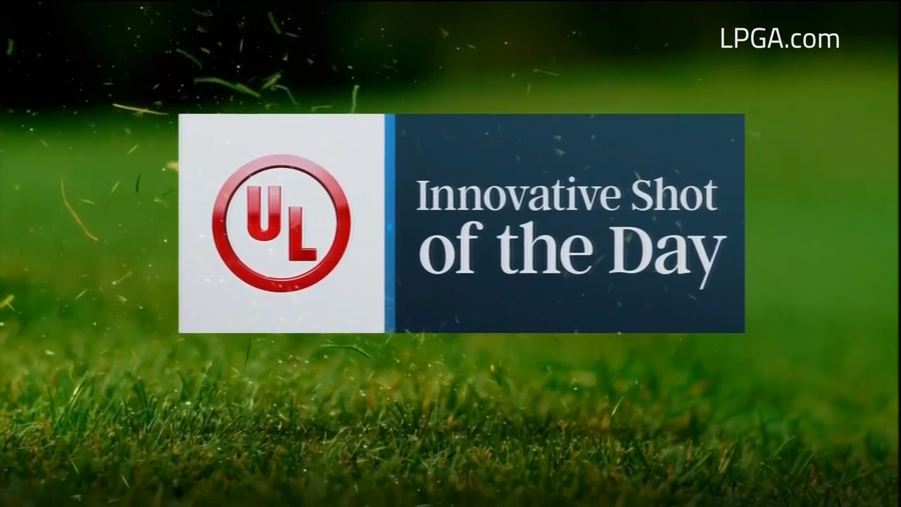 UL Innovative Shot of the Day during the final round of the LPGA Drive On Championship