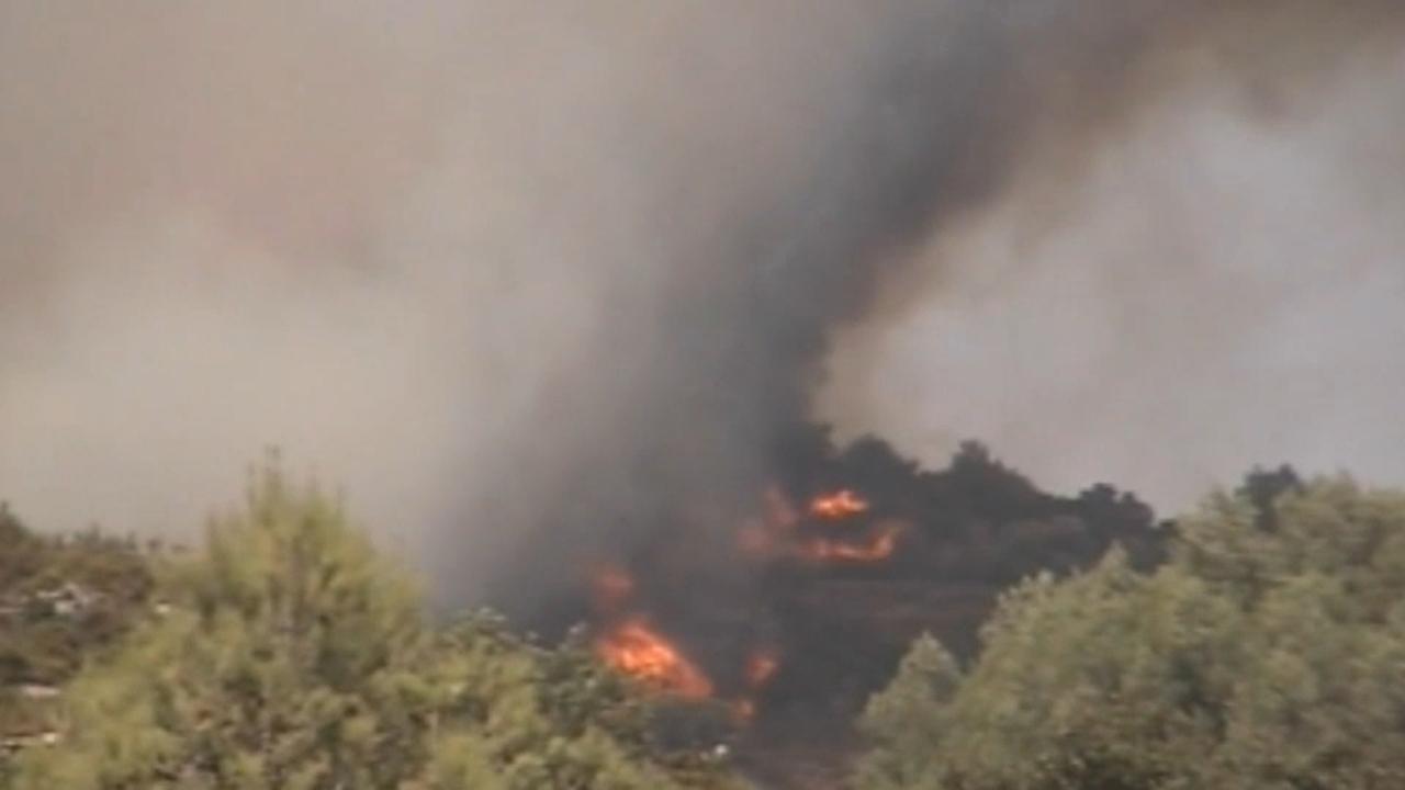 El foc va arrasar 7.400 hectàrees