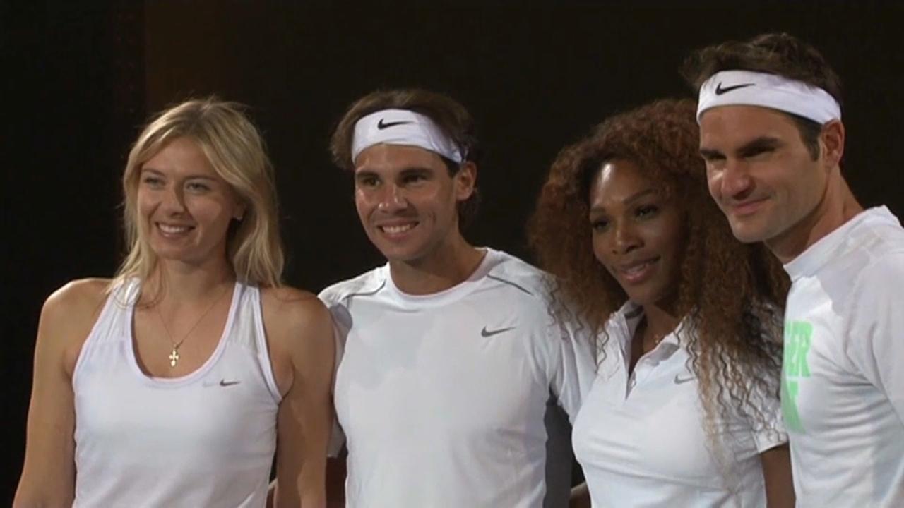 Federer i Nadal volen unir el tenis femení i masculí