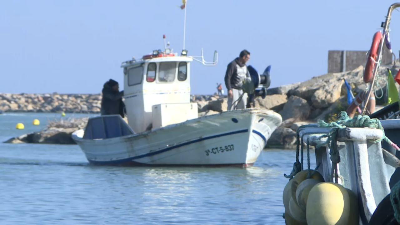 El port de Guardamar del Segura continua tancat quatre mesos després de la DANA