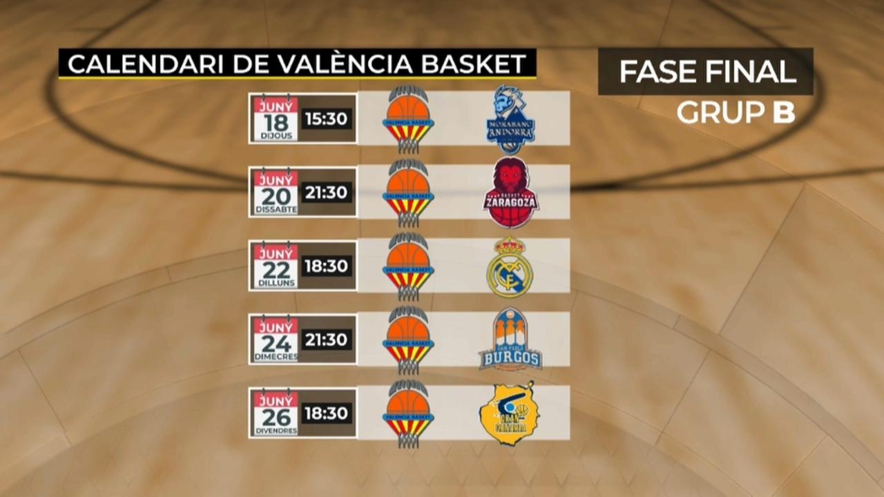 Els taronja s'enfrontaran dissabte al Saragossa a les 21:30 h i dilluns, al Reial Madrid a les 18:30 h