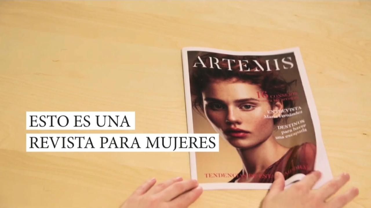 Revista 'secreta' contra la violència masclista