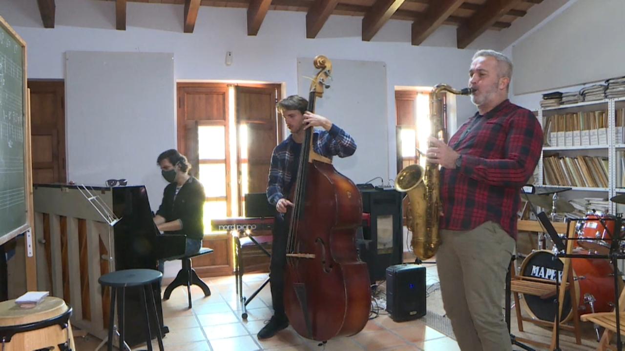 El saxofonista Vicent Macián. / À Punt NTC