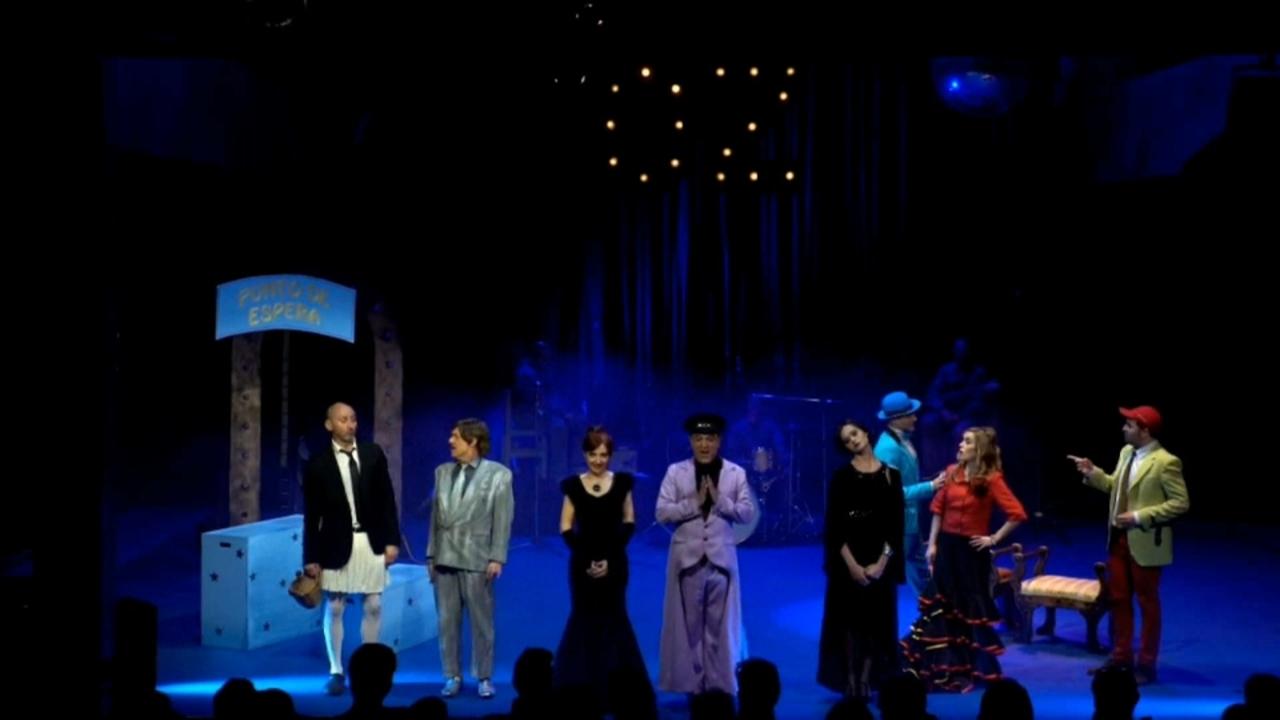 Imatge de l'obra de teatre 'Buscant al mag d'Oz'