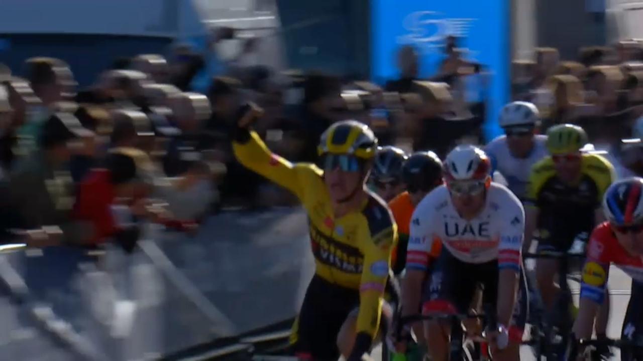 Groenewegen, líder de la Volta a la Comunitat Valenciana després de guanyar la primera etapa en un esprint