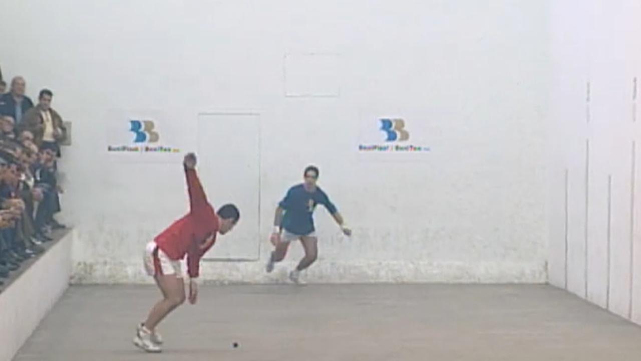 L'Individual de raspall de 1999, per la televisió d'À Punt