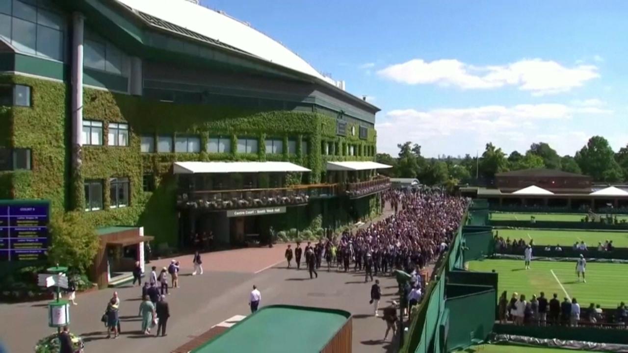 Wimbledon, cancel·lat