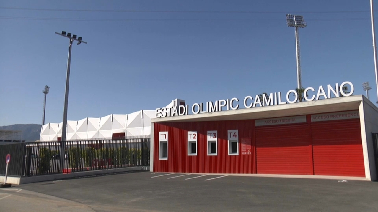 L'estadi olímpic de la Nucia disposa d'instal·lacions d'última generació